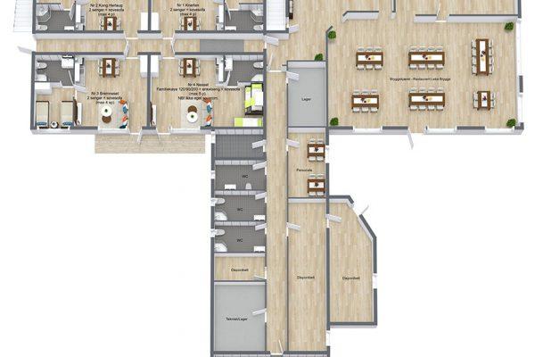 Leka-Brygge-AS---1.-Etasje---3D-Floor-Plan