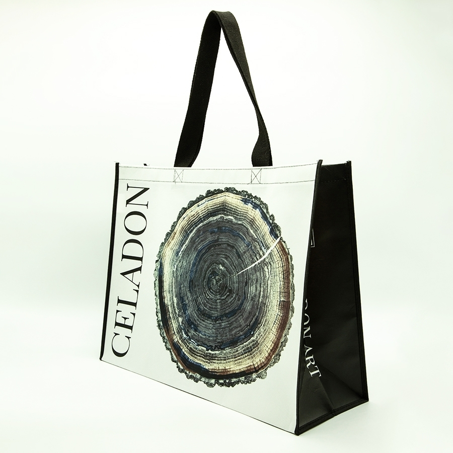 branded large reusable bags