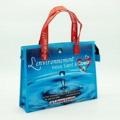 120g non-woven material with a matte lamination, and a special printed handle