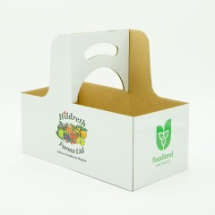 4L paper basket with full-colour and outer lamination for extra water resistance