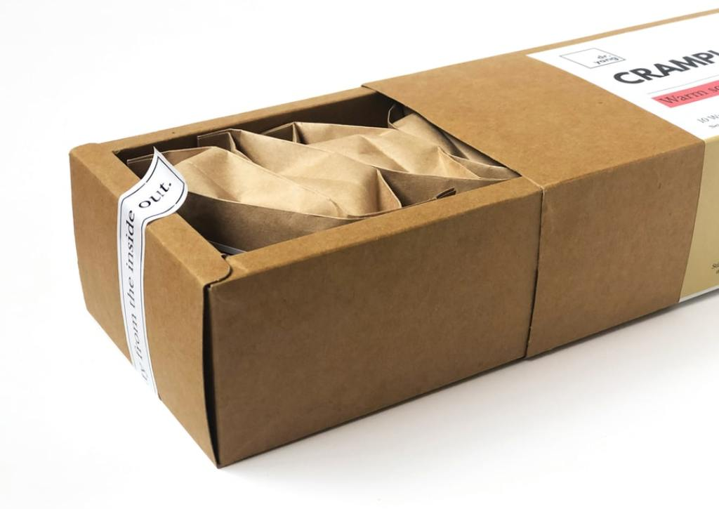 A box made from cardboard is a popular and budget friendly option.