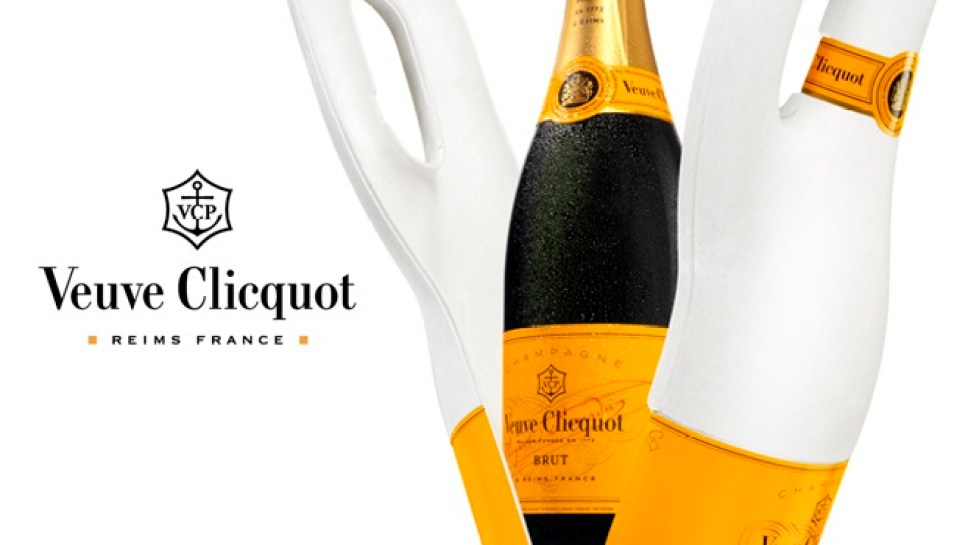 Veuve Clicquot wine packaging