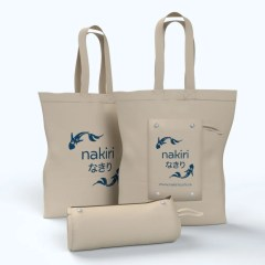 made from 100% natural hemp material, our rolling bags can be folded and snapped shut for easy travel