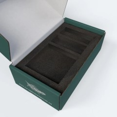 Add a custom EVA foam insert to your mailer box to ensure the safety of its contents