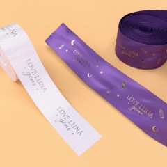 combination of threaded and silky ribbon options