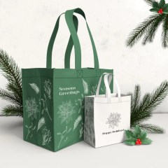 unlimited size and design options available for our high quality PP non-woven reusable bags