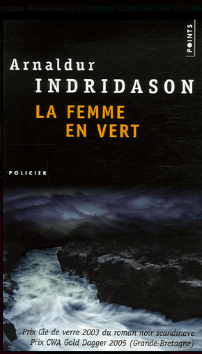 Couverture La femme en vert Arnaldur Indridason