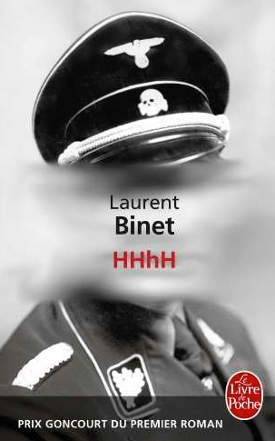 Couverture HHhH de Laurent Binet