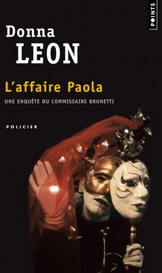 Couverture l'affaire Paola de Donna Leon