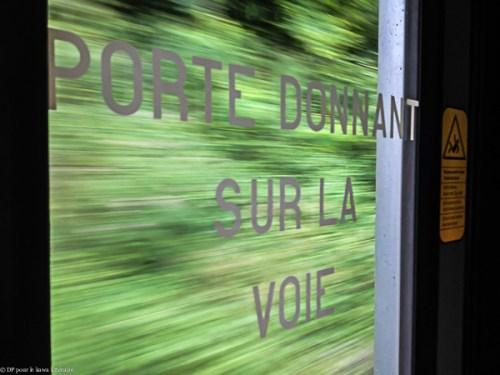 Dans le TER Lyon-Grenoble le 14 juillet