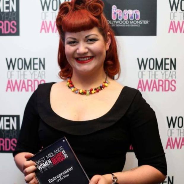 Lynsey Le Keux entrepreneur of the year