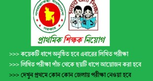 Primary School Teacher Exam 2019