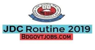 JDC routine download 2019