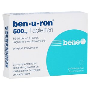 Ben-u-ron 500mg, 20 Stck