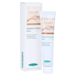 BENEVI Color Pigmentcreme hell, 20 Milliliter