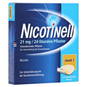 Nicotinell 21mg/24 Stunden, 14 Stck