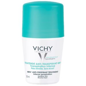 VICHY Deodorant Anti-Transpirant 48hRoll-on, 50 ml