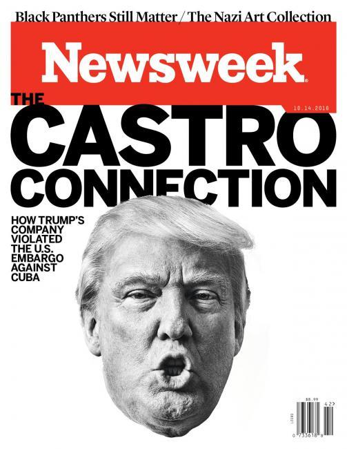 "Newsweek - Edition du 14 Octobre 2016: ""La connexion Castro"""