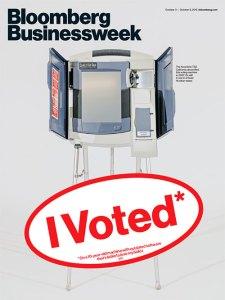 "Bloomberg Businessweek - Edition du 3 au 9 octobre 2016: ""I voted"""