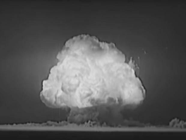 Vidéos déclassifiées des tests d'armes nucléaires américaines durant la Guerre froide.