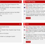 Excellent agrégateur de contenu : NewsNow