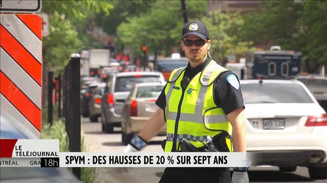 Salaires des flics de Montréal ancien contrat: au départ : $ 24 000. Plafond : $ 83 000 . Retraite : 80% du salaire des 3 dernières années.