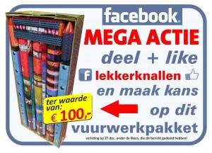Mega Facebook Actie