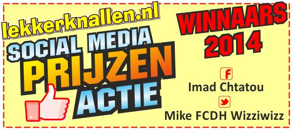 Winnaars Social Media Actie