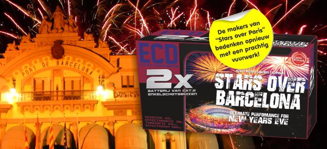 Stars Over Barcelona Lekkerknallen Vuurwerk Happycopy