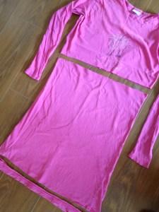 T-shirt garen maken 1