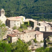 La cité cathare de Minerve dans l'Hérault