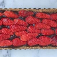 Tarte Choco-Fraises sans cuisson