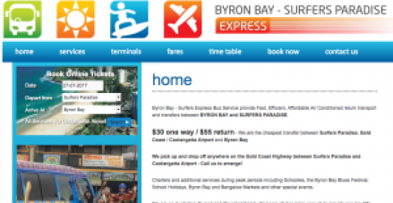 Byron Bay Express Bus Service