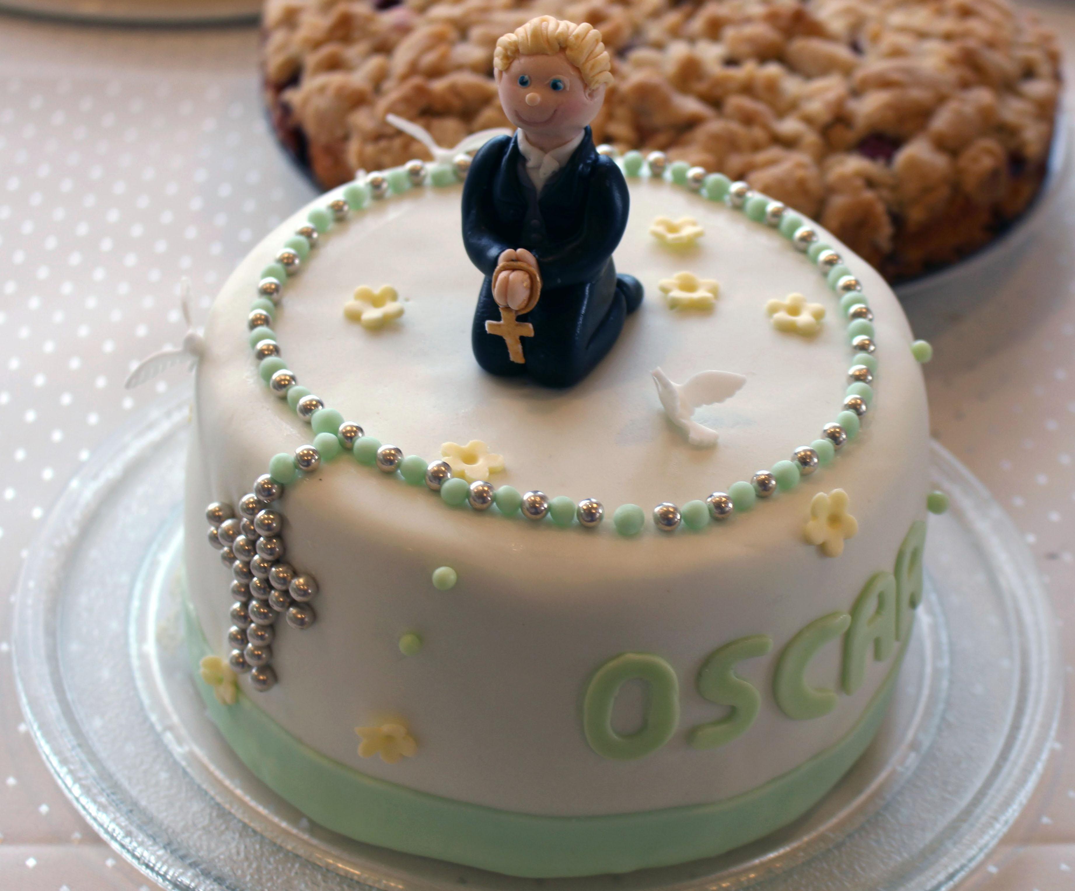 Kommunion Kuchen Junge