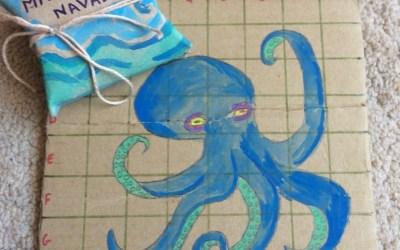 Tuto DIY : Fabrique un jeu de bataille navale en carton