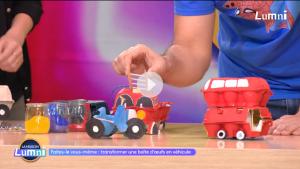 Construire des véhicules avec une boite d'œufs
