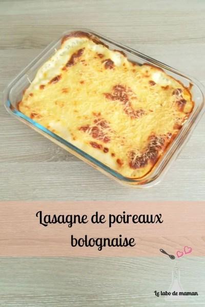 légumes - poireaux - lasagne - bolognaise - enfant - familiale - companion