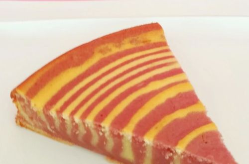 zébré-citron-framboise-gâteau-facile-octobre rose-companion