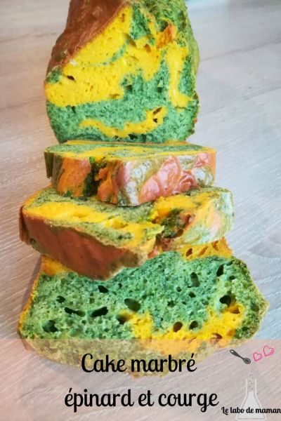 cake épinards courge