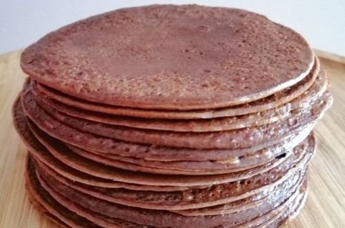 crêpes, chocolat, Pierre hermé, companion, goûter, chandeleur, cacao, crêpes moelleuses
