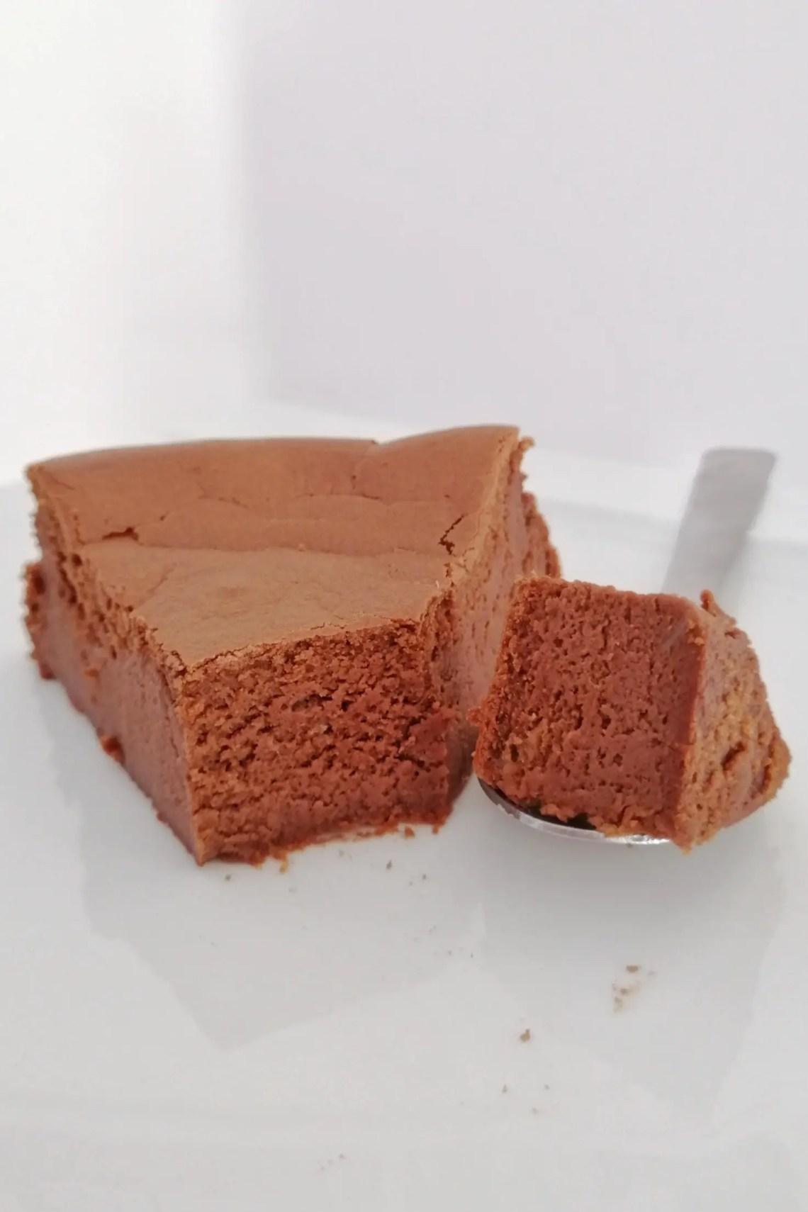 fondant chocolat léger