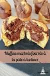 muffins marbrés fourrés Nutella