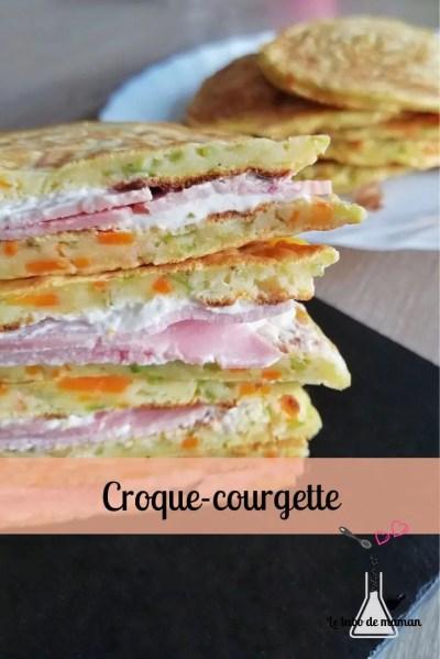 croque courgette carotte jambon