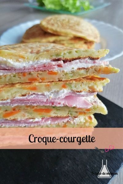 croque courgette companion