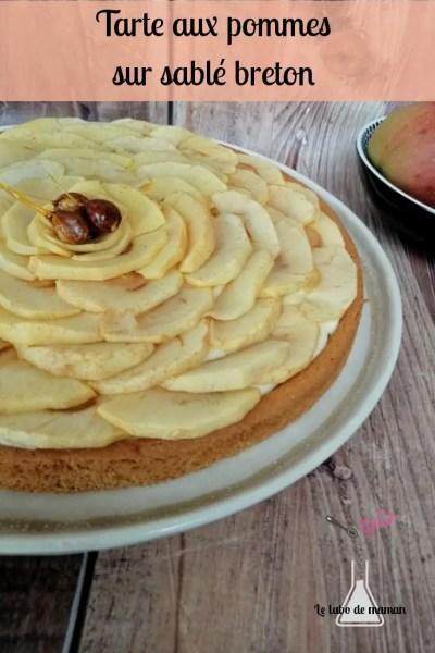 tarte aux pommes companion