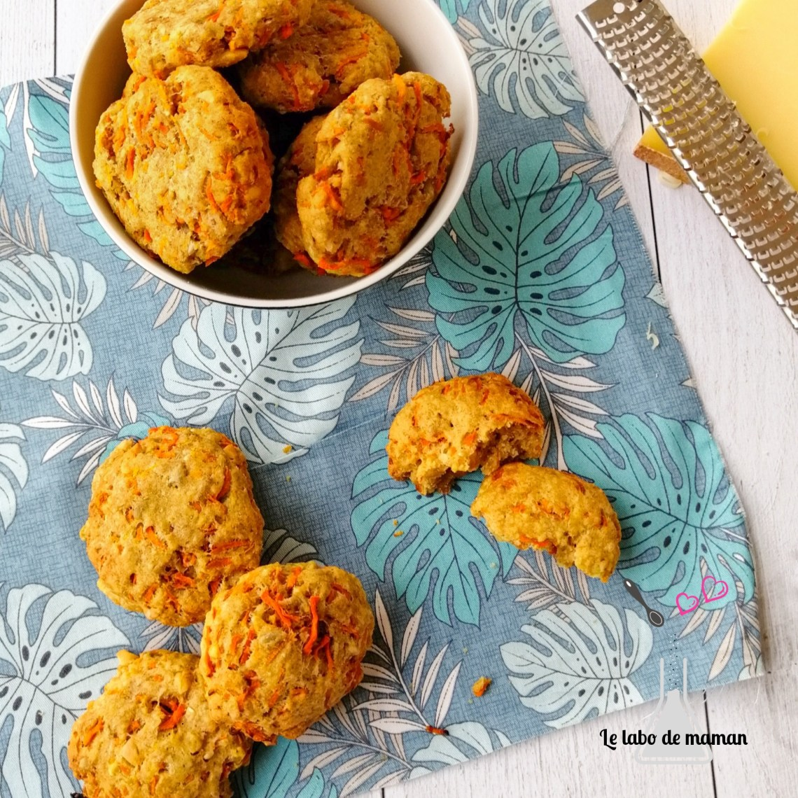 Cookies carottes