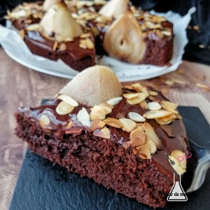 gâteau chocolat poire companion