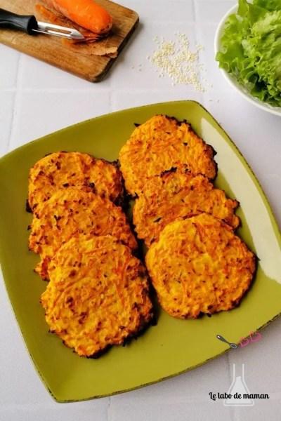 carottes ricotta galettes