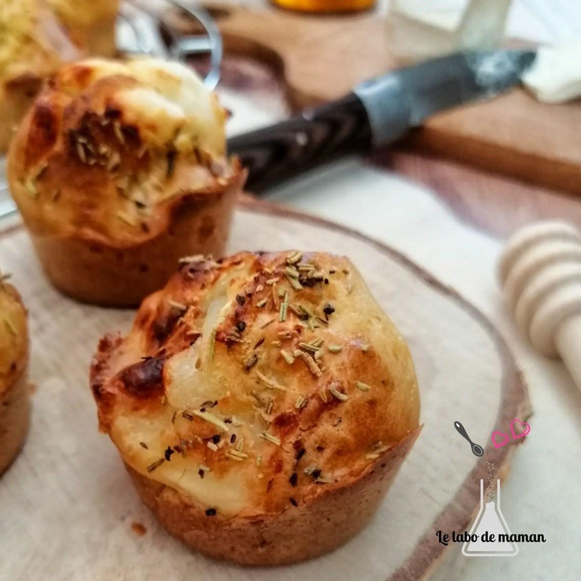 muffins chèvre miel