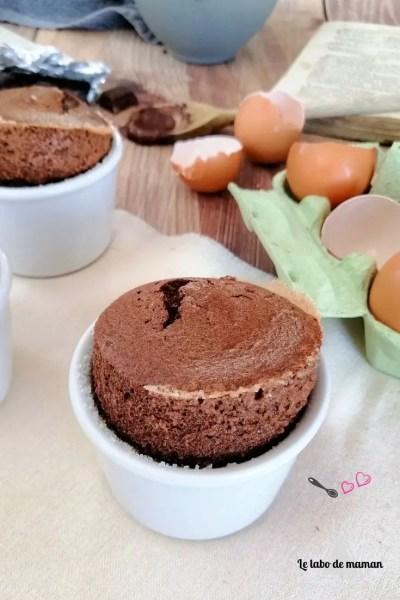 La recette des Soufflés au chocolat